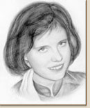 View Gallery - woman pencil portrait